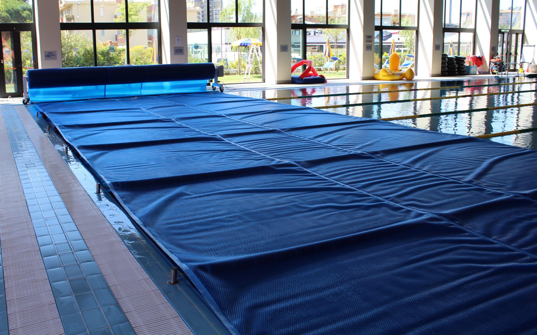 Cover copertura a bolle per piscina pubblica   Favaretti Group