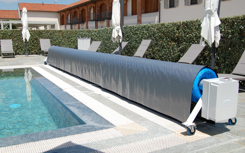 Cover rulli avvolgitori piscine grandi dimensioni serie CF | Favaretti Group