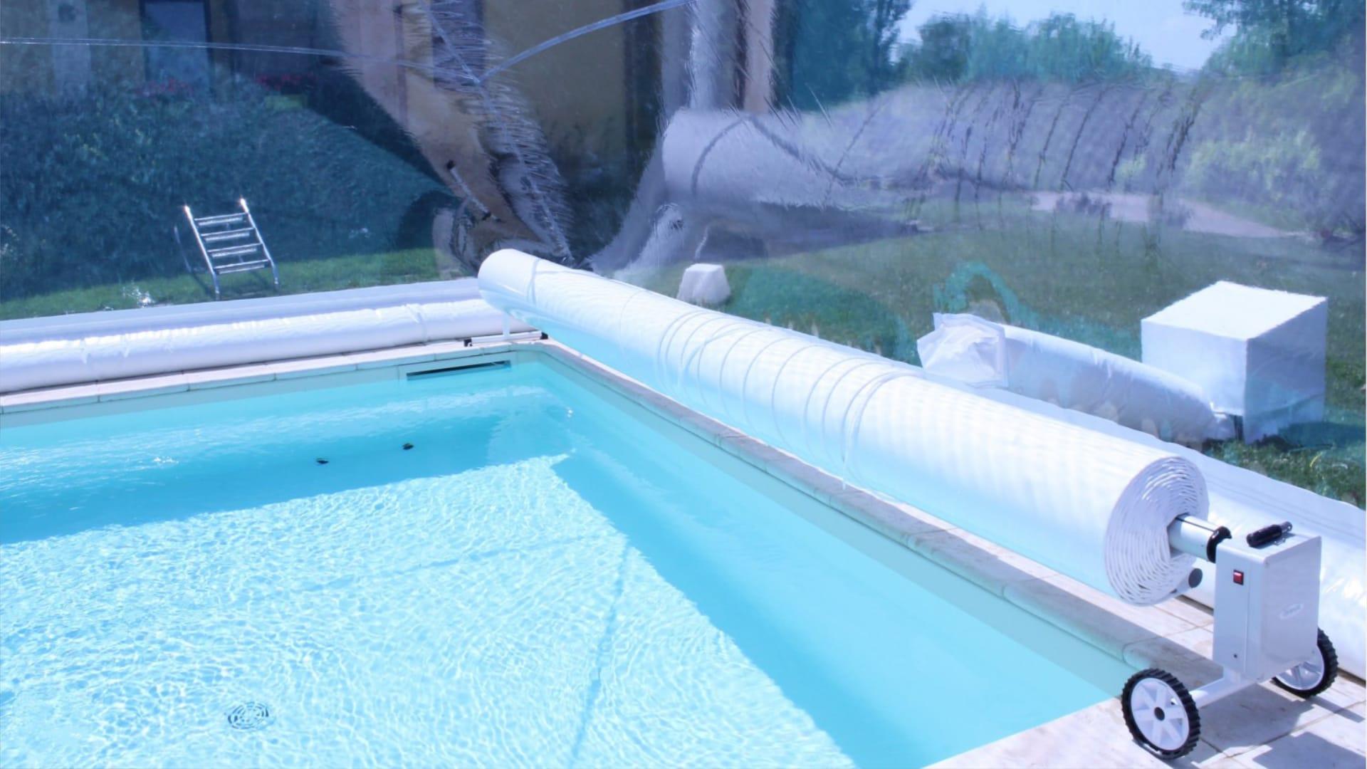Cover SERIE ECO-R EL - Rullo avvolgi telo piscina | Favaretti Group