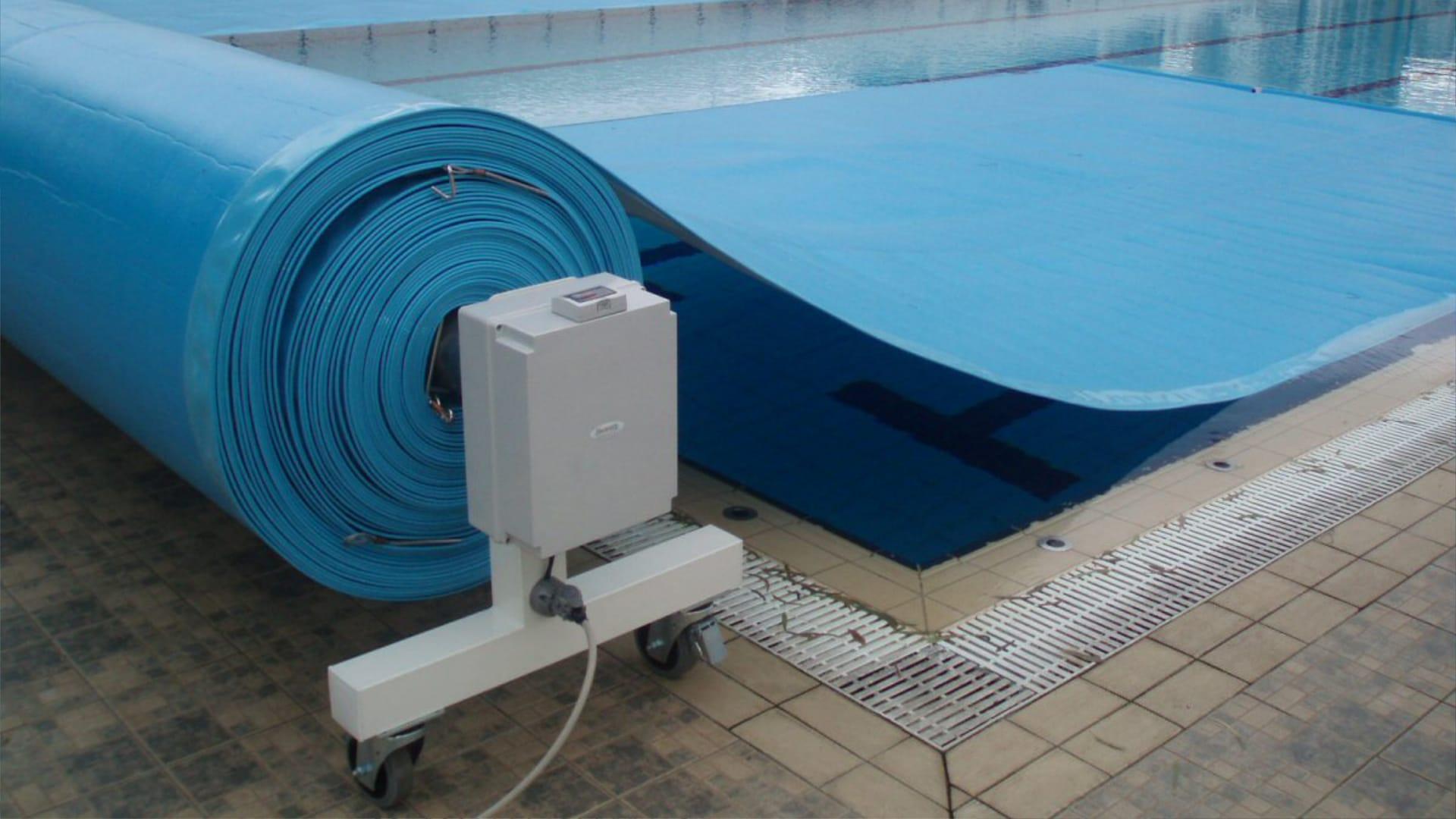 Cover SERIE MNR - Avvolgitori mobili piscine medio/grandi | Favaretti Group