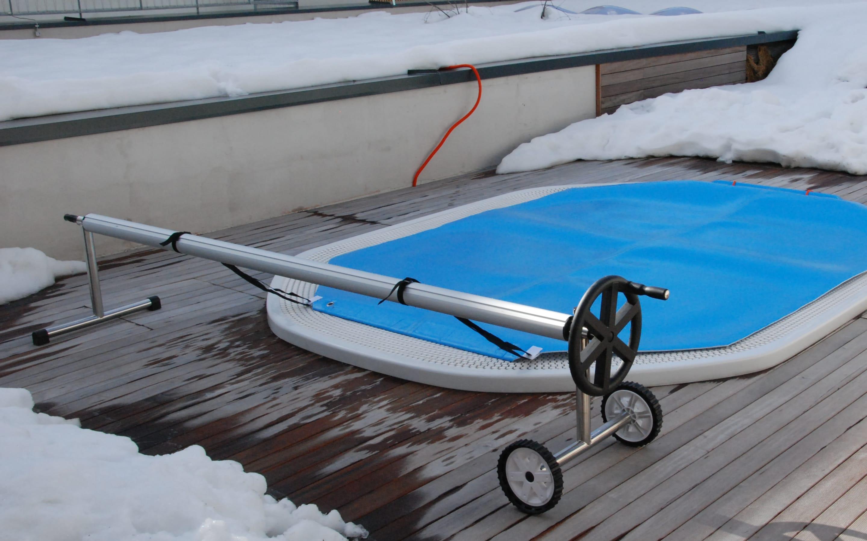 Cover SERIE ROLL - Rullo avvolgitore per piscina | Favaretti Group