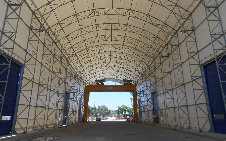 Cover tensostrutture industriali e stoccaggio merci | Favaretti Group