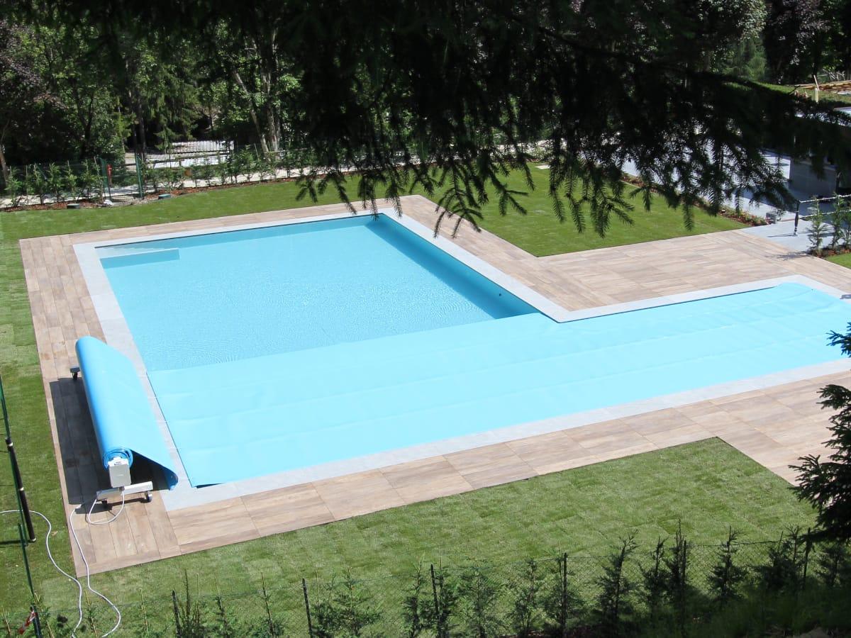 Copertura isotermica a schiuma multistrato piscine pubbliche | Favaretti Group