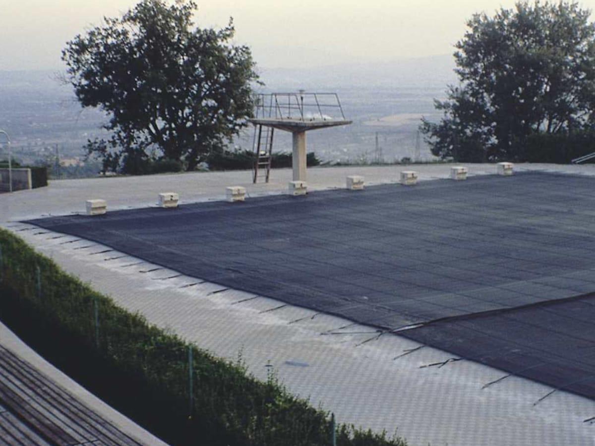 Telo per piscina con sistema filtrante | Favaretti Group