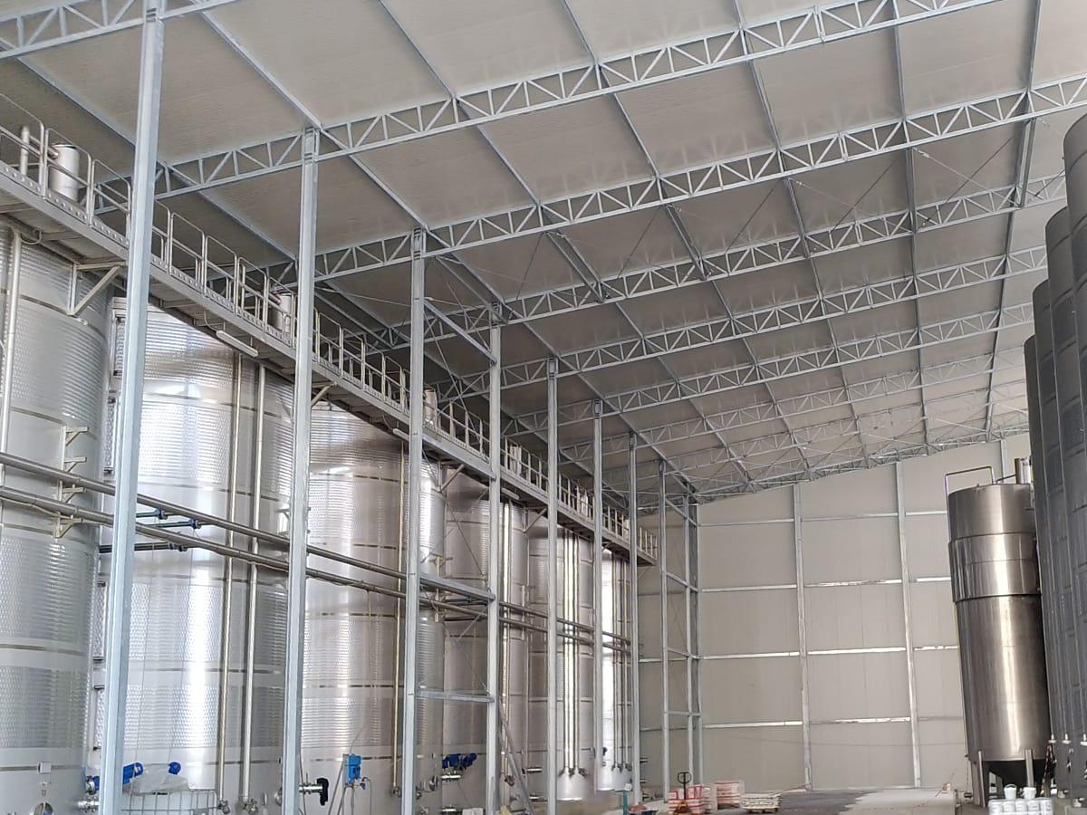 Tensostrutture industriali | Favaretti Group