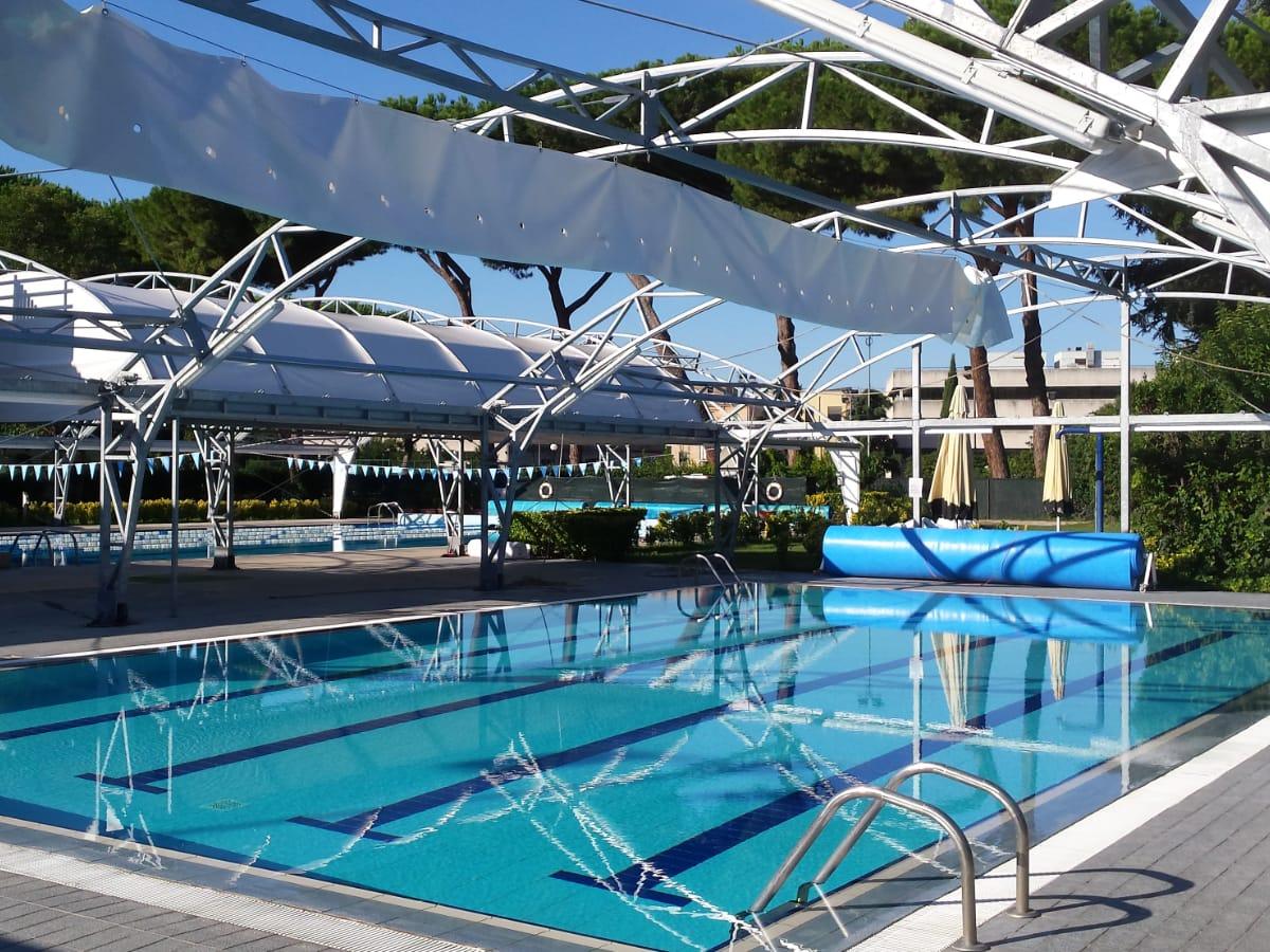 Tensostrutture per piscine pubbliche | Favaretti Group